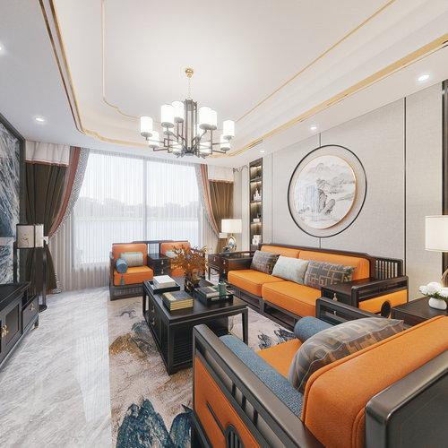 新中式套房