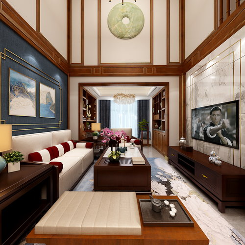 中式家装搭配全景20