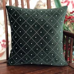 【包邮】千匠一品北欧优质绒布烫钻抱枕GD-56-M