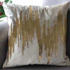 【包邮】千匠一品北欧优质棉麻布艺抱枕GD-50-J