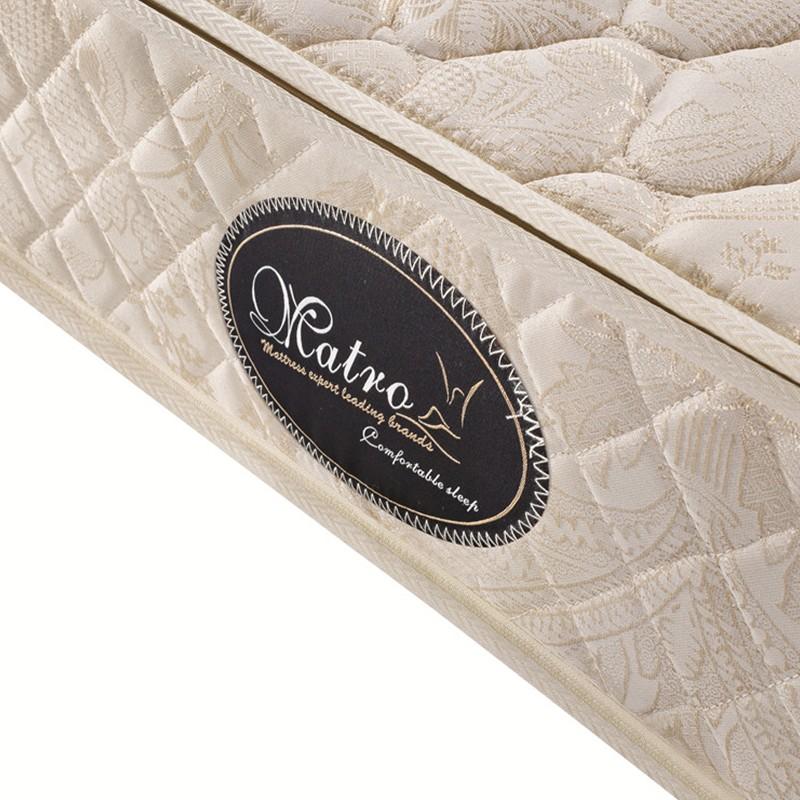 千匠一品现代舒适环保棕精钢弹簧织锦布可拆洗1.5/1.8M床垫普拉达-X