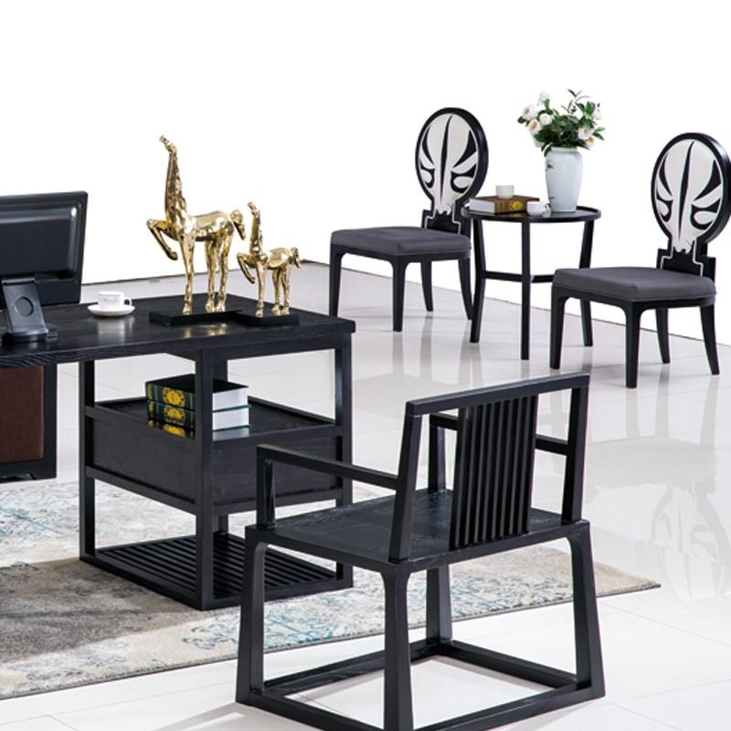 千匠一品新中式精选北美进口白蜡木圆背餐椅BC-039-G