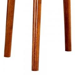 千匠一品新中式精选非洲进口金丝檀木环保油漆实木圆几B08-J