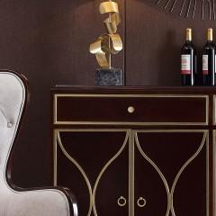 【精品】千匠一品轻奢美式精选优质榉木餐边柜SD8202-R