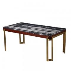 【精品】千匠一品轻奢美式优质榉木餐台SD3213-M