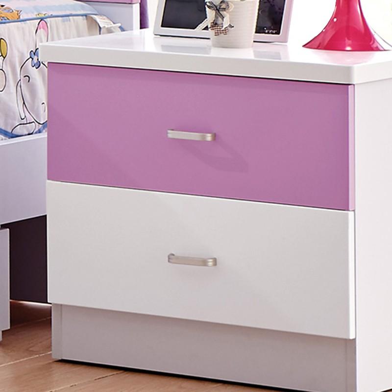 千匠一品韩式风格精选优质三聚氰胺板床头柜8605-R