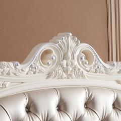 千匠一品法式风格精选优质三聚氰胺板1.8m双人床8906-R