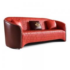 千匠一品俄罗斯进口松木+实木多层板+中厚皮全皮美式风格A061沙发-X