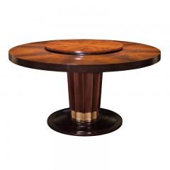 【精品】千匠一品轻奢美式优质桃花芯实木+高密度纤维板804圆餐台-X