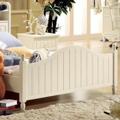 千匠一品韩式优质橡胶木中纤板板木结合儿童床LM-802-Y