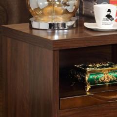 千匠一品新中式风格特价产品精选优质橡木+E1级密度板床头柜6B03-R