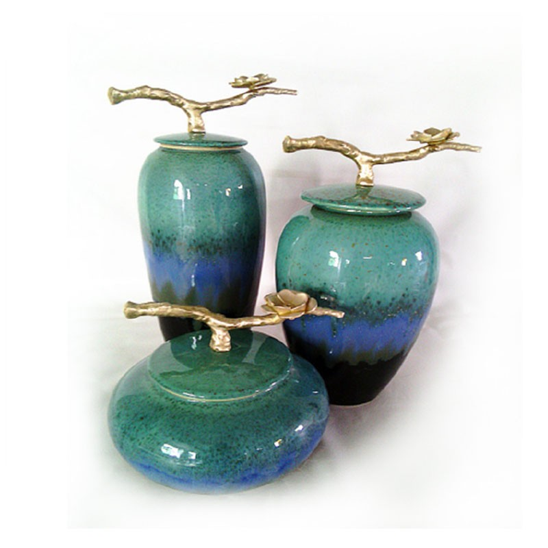 千匠一品精选优质陶瓷装饰花瓶S-08-S