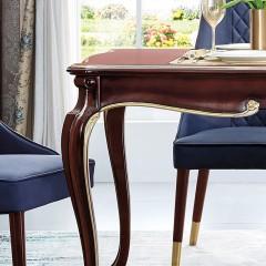 【精品】千匠一品 美式轻奢风格精选优质进口榉木+实木多层板长餐桌9801-Y