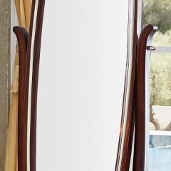 【精品】千匠一品 美式轻奢风格精选优质进口榉木+实木多层板+优质镜穿衣镜901-Y