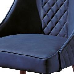 【精品】千匠一品 美式轻奢风格精选优质进口榉木+科技布软包餐椅906-Y