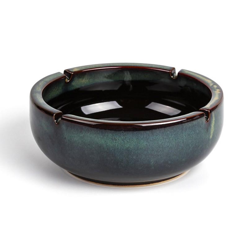 千匠一品美式精选优质陶瓷烟灰缸S-04-Y