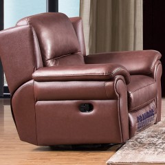 千匠一品现代风格简约优质桉木+皮艺手动功能1+2+3位沙发组合2220B-E