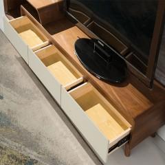 千匠一品现代简约板木结合木面地柜OG-2088-G