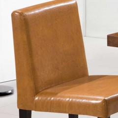 千匠一品现代简约精选优质铁架+皮餐饮餐椅C047-G