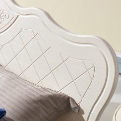 千匠一品现代欧式板木结合床XS6018-H