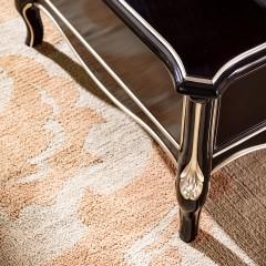 【精品】千匠一品轻奢法式橡木全实木框架+环保油漆茶几BF602-X