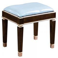 【精品】千匠一品轻奢美式进口榉木妆凳m902-H