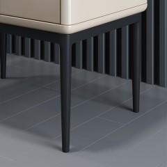 【精品】千匠一品轻奢意式极简风格五金底架密度板烤漆工艺床头柜YS3-R13-X